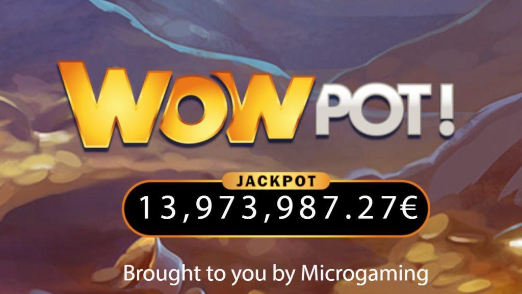 Microgamingu WOWPot võimaldab võita ka üle 10 miljoni euro
