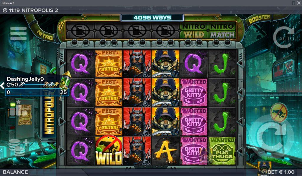 Osale 500 € Winspinni turniiril Optibetis, mängides slotimängu Nitropolis 2