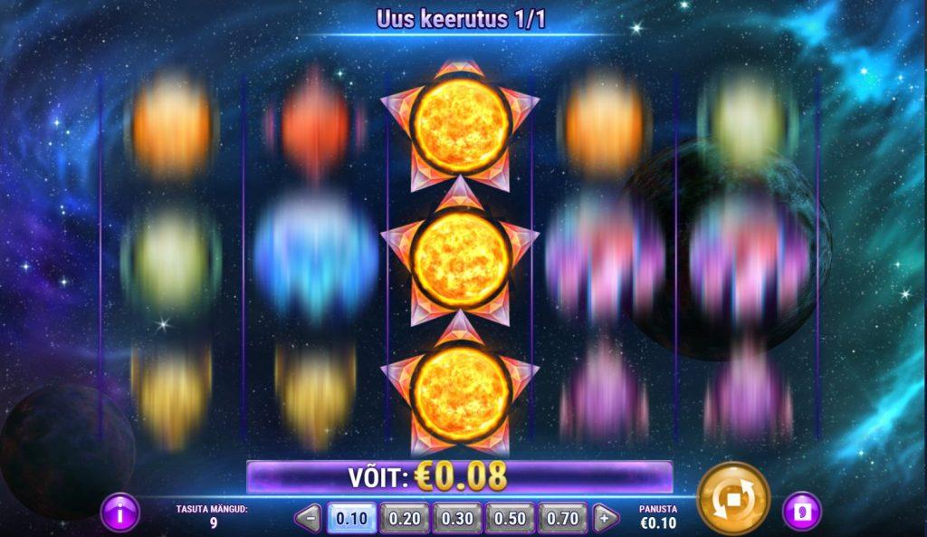 Play N Go slotimäng Crystal Sun