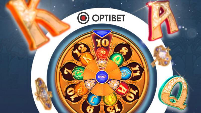 Saa Optibetis 40 tasuta spinni slotimängus Codex of Fortune