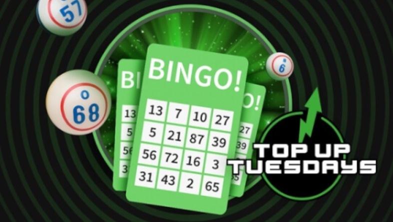 Saa teisipäeviti 3 € tasuta vautšeri Unibeti Bingos
